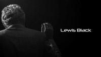 Lewis Black  w light  and text 33 poster