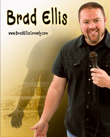 Brad Ellis Poster with Shadow and Text