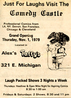 Comedy Castle (Lansing) Grand Opening Ad